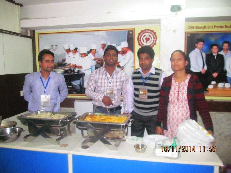 Serving team
